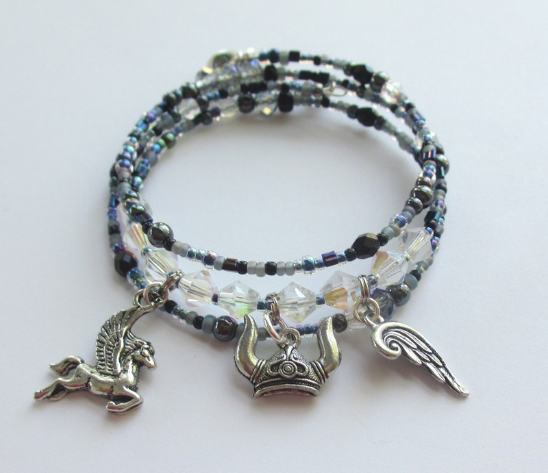 The Ride of the Valkyries Bracelet, inspired by Wagner's famous music from Die Walkure.