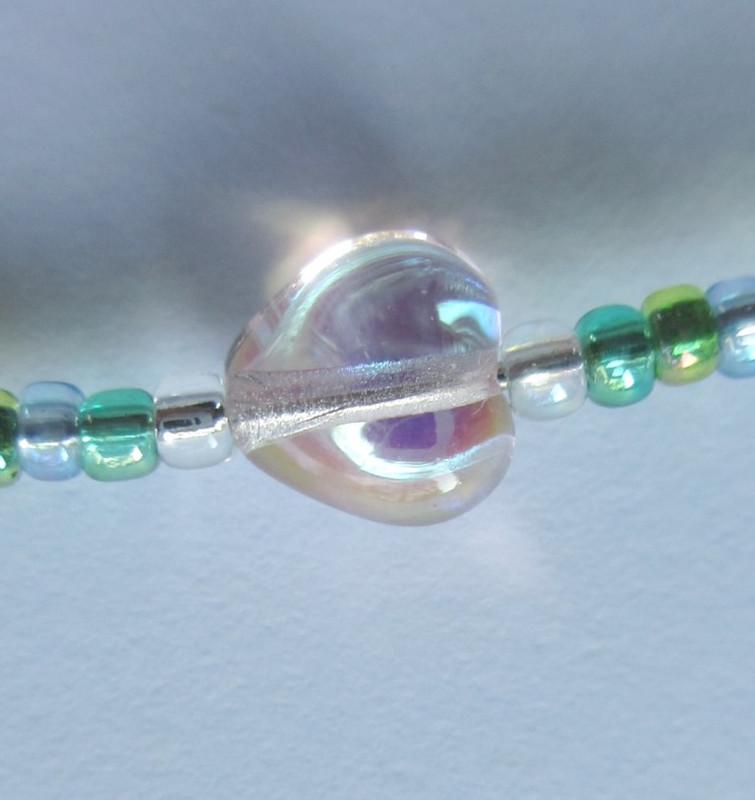 Glass hearts represent Siebel's love.