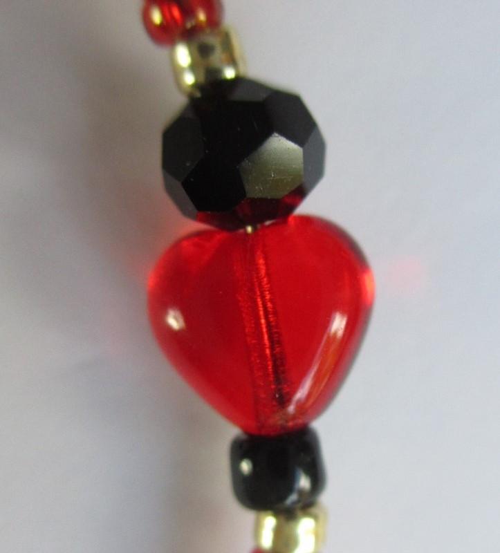 Toreador Song Bracelet detail: Beads