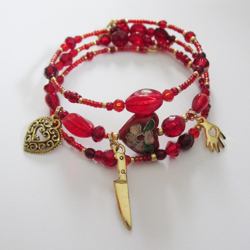 The Tosca's Kiss Bracelet is inspired by Puccini's Floria Tosca.
