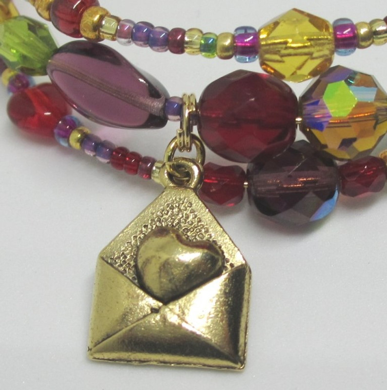 The love letter charm symbolizes John's identical scandalous proposals.