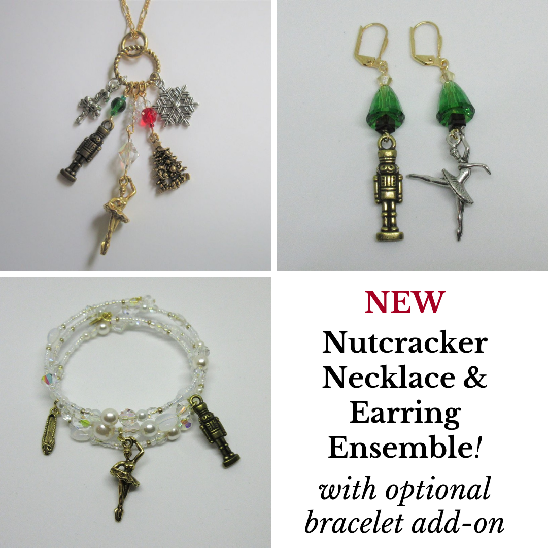 The Nutcracker Ensemble - Necklace and Earrings