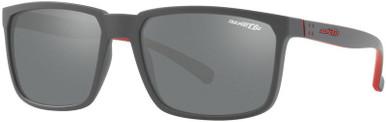 Stripe AN4251 - Matte Grey/Grey Mirror Silver Lenses