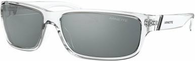 Crystal Transparent/Light Grey Black Mirror Lenses