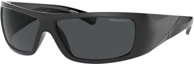 AN4286 - Matte Black/Dark Grey Polarised Lenses