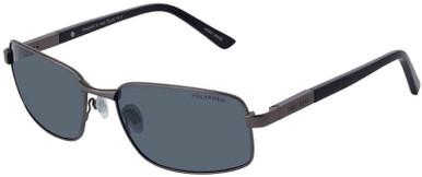 Ollie - Satin Gunmetal/Grey Polarised Lenses