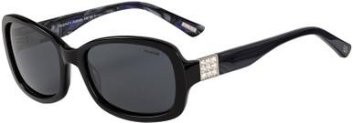 Black and Blue/Grey Polarised Lenses