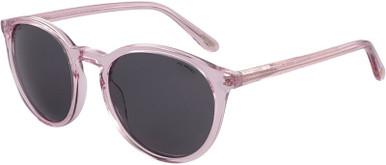 Crystal Pink/Grey Polarised Lenses
