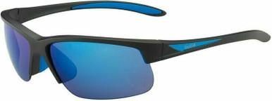 Breaker - Matte Black, Blue/Polarised Offshore Blue Mirror Lenses