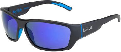 Matte Black Blue/Blue Mirror Polarised GB10 Lenses