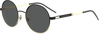 1159/S - Black and Gold/Grey Lenses