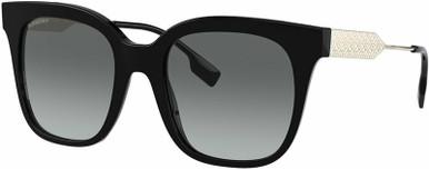Evelyn BE4328 - Black/Grey Gradient Lenses