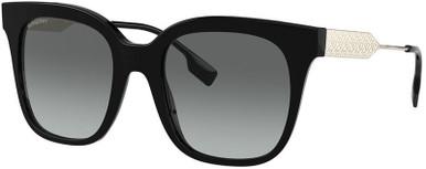 Evelyn BE4328F - Black/Grey Gradient Lenses