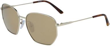 CK19102S - Gold/Light Brown Lenses