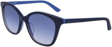 CK19505S - Navy and Cornflower Blue/Blue Gradient Lenses