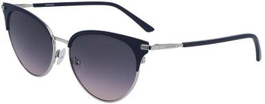 CK19309S - Satin Navy/Grey Violet Gradient Lenses