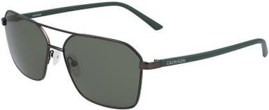 CK20300S - Matte Gunmetal/Green Lenses