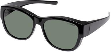 Black/Green Polarised Lenses