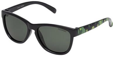 Black and Camo/Green Polarised Lenses