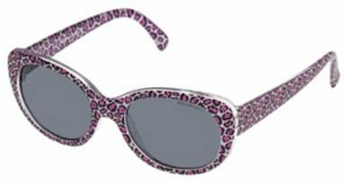 Cheetah - Kids - Pink Leopard/Grey Polarised Lenses