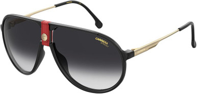 1034/S - Gold and Red/Dark Grey Gradient Lenses