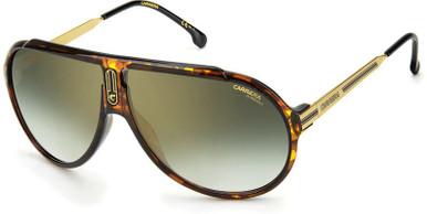 Endurance65 - Havana/Green Gold Mirror Lenses