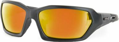 Titanium/Yellow Orange Mirror Lenses