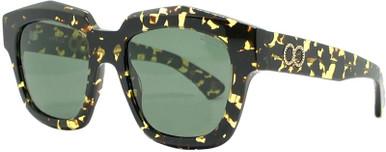 Bio-Acetate Tort/Green Polarised Lenses