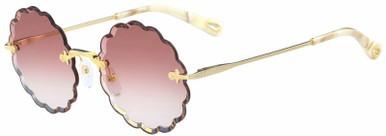CE142S - Gold/Violet Gradient Lenses 53 Eye Size