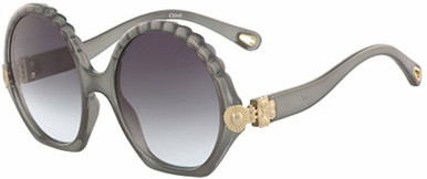 Vera - Translucent Grey/Dark Grey Gradient lenses