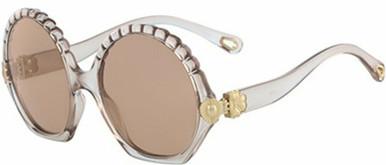 Vera - Translucent Nude/Brown Lenses
