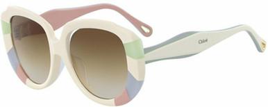 CE748SA - Pastel Rainbow/Brown Gradient Lenses