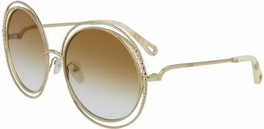 Carlina Chain - Gold/Brick Gradient Lenses