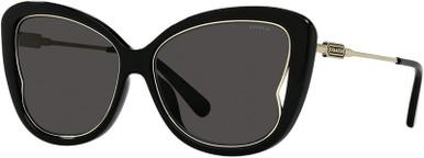 8304U - Black/Black Lenses