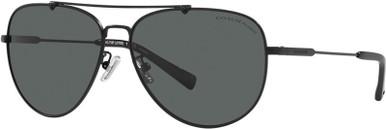 7087 - Matte Black/Dark Grey Polarised Lenses