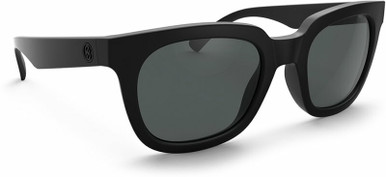 Midnite Ratio - Satin Black/Grey Lenses