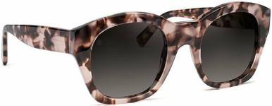 Champagne Coast - Rose Leopard/Grey Gradient Lenses