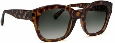 Champagne Coast - Leopard Tort/Grey Glass Lenses