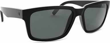 Evil Twin - Gloss Black/Grey Polarised Lenses