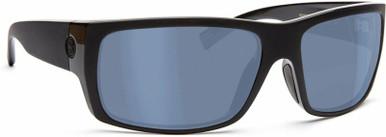 Repeat Offender - Flat Black/Cobalt Flash Mirror Polarised Lenses
