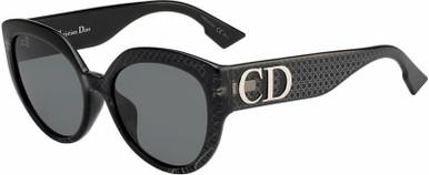 Ddiorf - Black/Silver Flash Mirror Lenses