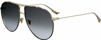 Dior Monsieur 1 - Havana and Gold/Grey Gradient AR Lenses