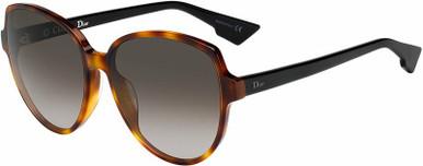 Dior Onde2 - Havana and Black/Smoke Gradient Lenses