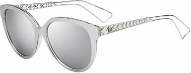 Diorama 2 - Silver/Silver Mirror Lenses