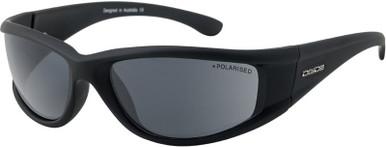 Banger - Satin Black/Grey Polarised Lenses