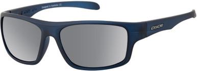Sonic - Satin Blue Grey/Silver Mirror Polarised Lenses