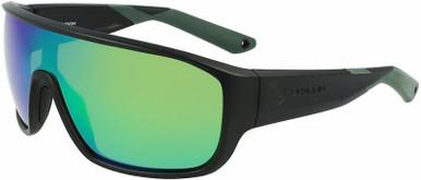 Matte Black H2O/Green Ionised Polarised LL Lenses