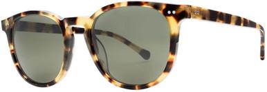 Oak - Gloss Spotted Tort/Grey Polarised Lenses