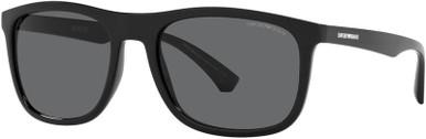 EA4158 - Matte Black/Dark Grey Lenses