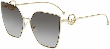 0323/S - Gold/Grey Gradient Lenses